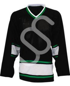 black hockey unifrom